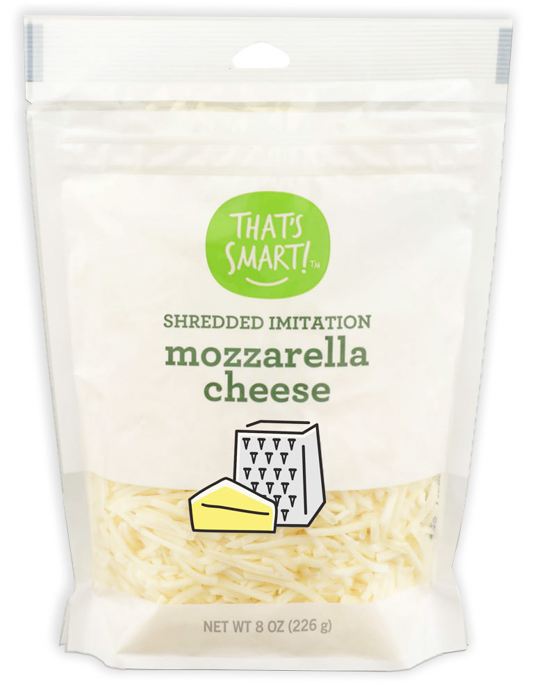 That's Smart Shredded Imitation Mozzarella Cheese