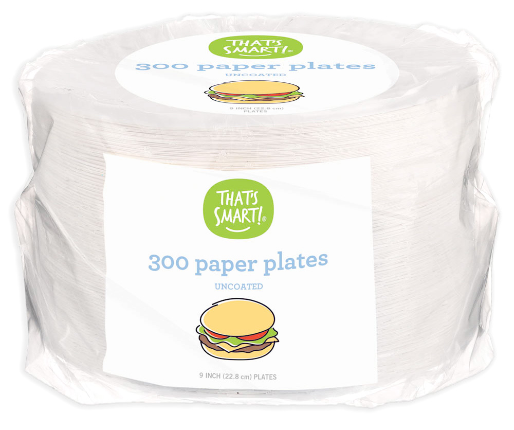 That's Smart Paper Plates