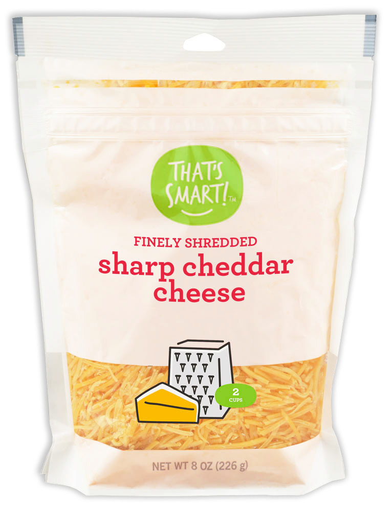That's Smart Finely Shredded Sharp Cheddar Cheese