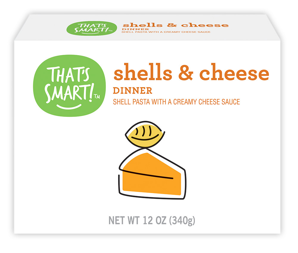 That's Smart! shells and cheese dinner